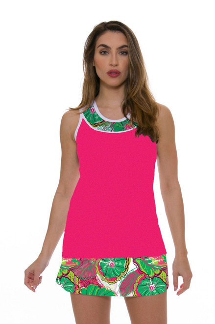 Allie Burke Women's Preppy Floral Tennis Skirt