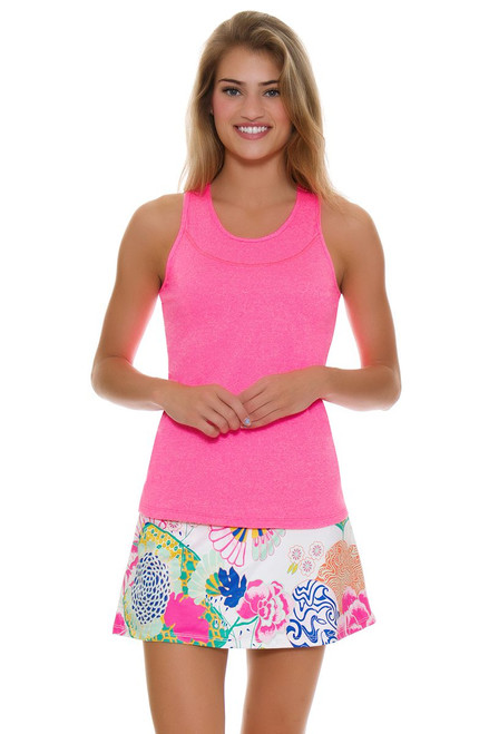 Allie Burke Women's Japanese Garden Print Tennis Skirt