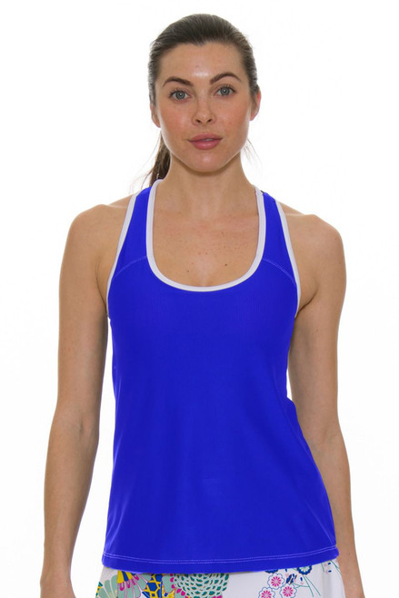 Allie Burke Women's Royal Racerback Tennis Tank