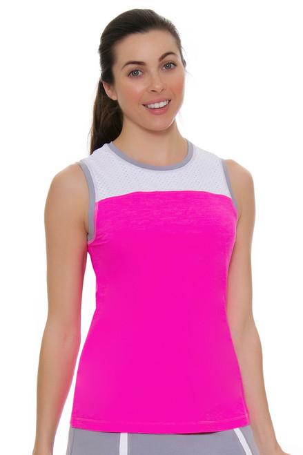 Sofibella Women's Rio Practice Tennis Sleeveless Shirt