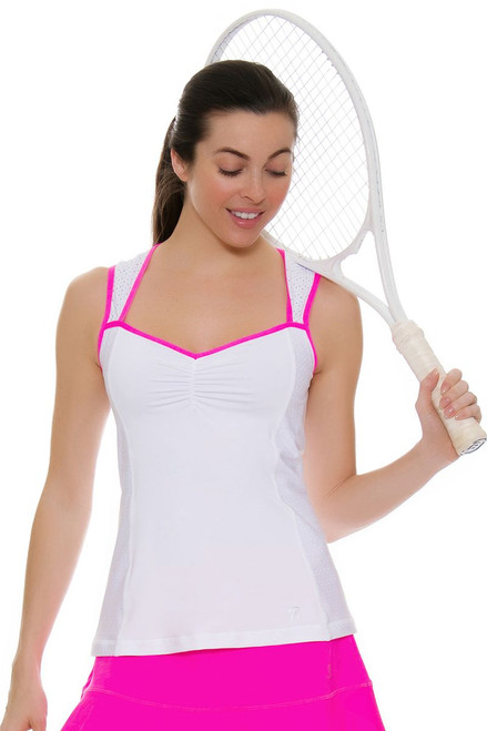 Sofibella Women's Rio Royal Tennis Tank