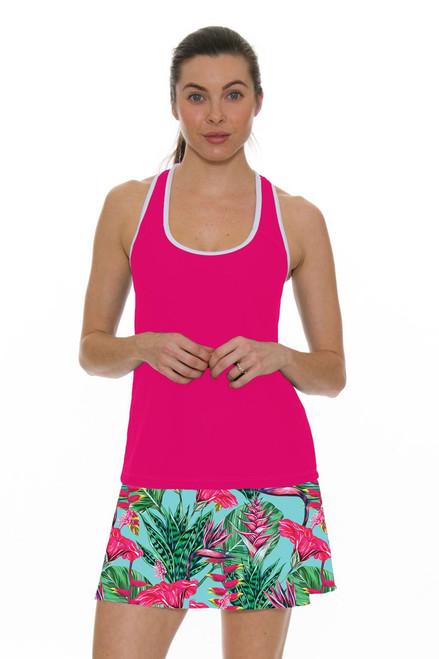 Allie Burke Women's Summer Garden Print Tennis Skirt