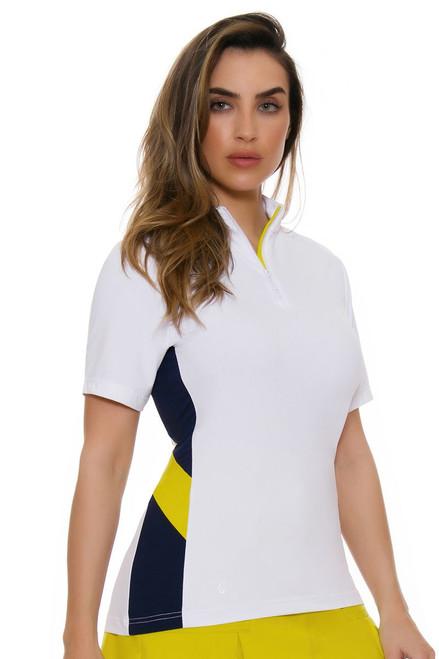 GGBlue Women's Escapade Britney Golf Polo Shirt