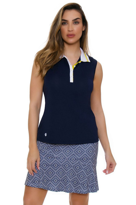 GGBlue Women's Escapade Flounce Pull On Golf Skort