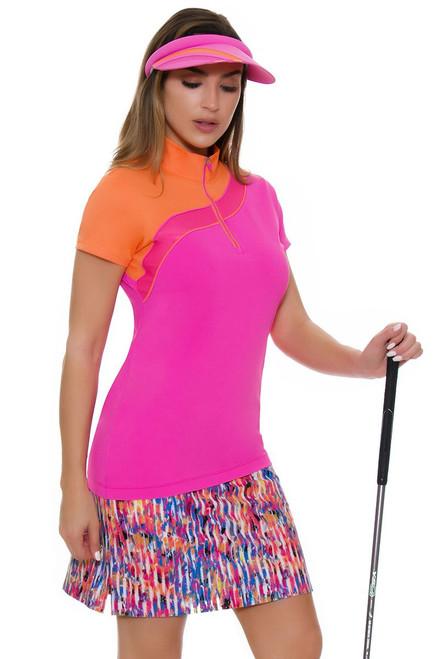 EP Pro NY Women's Brilliants Blur Floral Print Golf Skort
