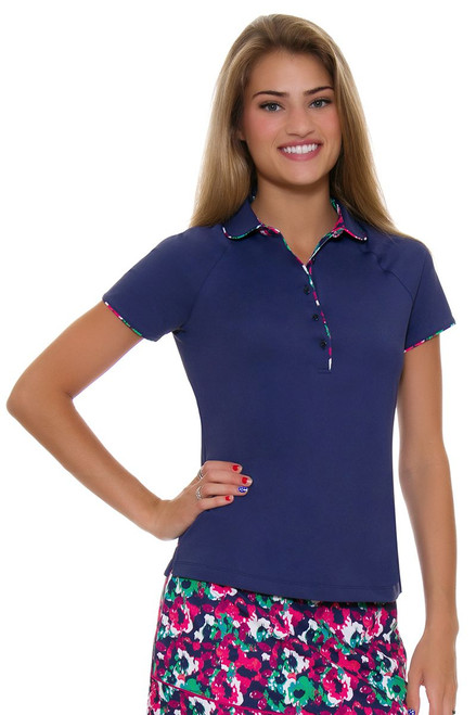 Fairway and Greene Women's Punch Line Bella Golf Polo Shirt