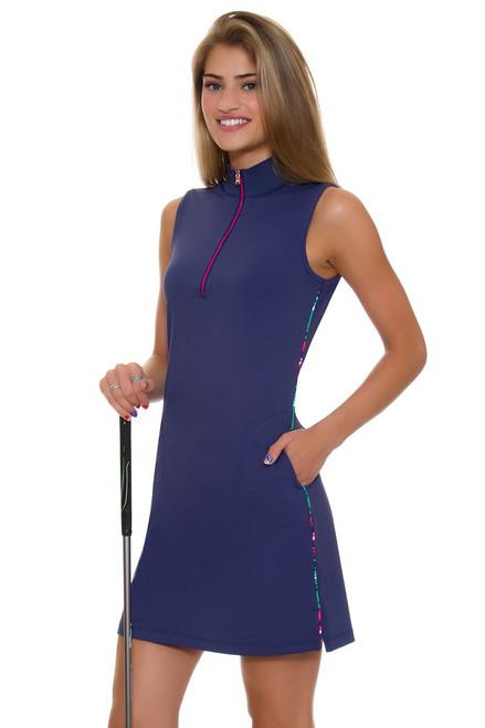 Fairway and Greene Punch Line Trixie Zip Mock Golf Dress