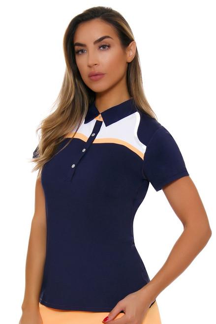 Annika Women's Courage Relay Golf Cap Sleeve Polo