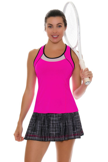 Lucky In Love Women's Off The Charts Pleat Tennis Skirt