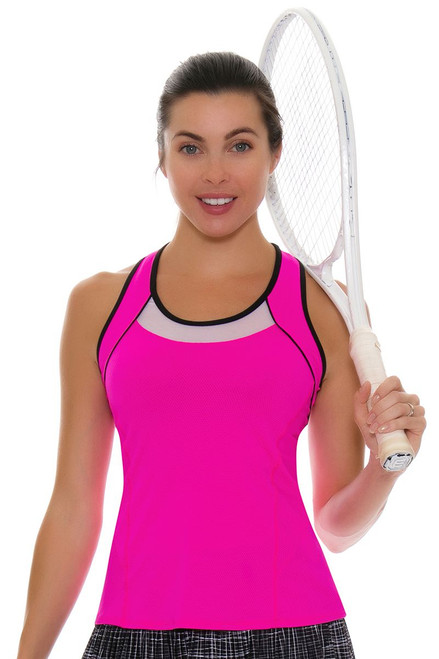 Lucky In Love Women's Off The Charts Colorblock Tennis Tank