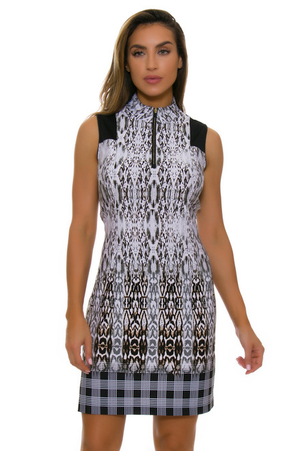 EPNY Women's Sleeveless Golf Standard Golf Dress