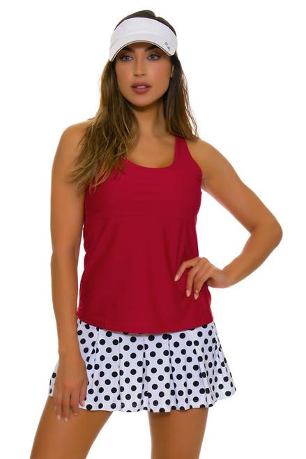 BPassionit Women's Eclipse Dot Pleated Tennis Skirt BP-616215 Image 1
