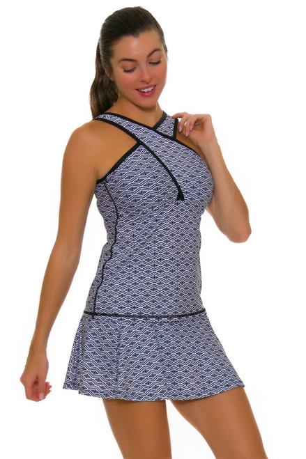 BPassionit Women's Eclipse Print Breeze Tennis Skirt BP-303826 Image 1