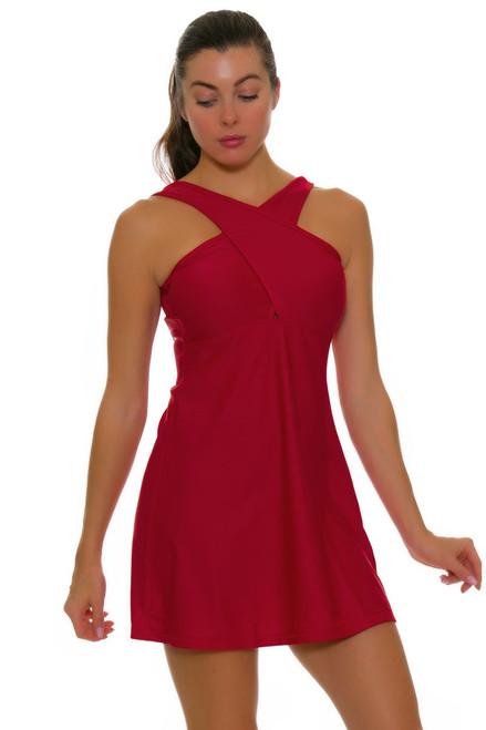 BPassionit Women's Eclipse Crossover Tennis Dress BP-60984 Image 1