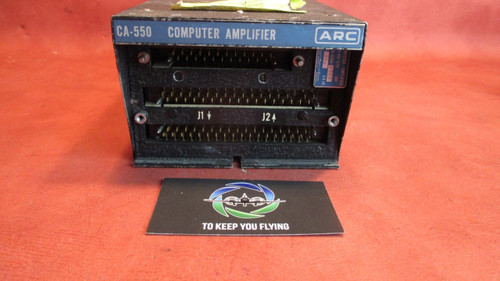 Aircraft Radio and Control CA-550 Computer Amplifier PN 42680-0005