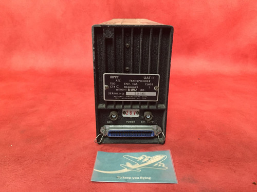 Narco ATC Transponder UAT-1