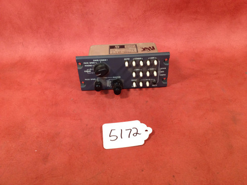 Avtech corp. Audio Control Panel, PN 9914064-53