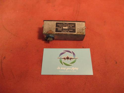 Beechcraft Baron 55 King Radio Corp. Remote Light Adaptor PN 071-0003-00