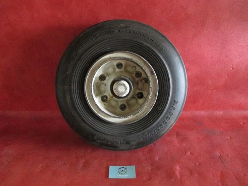Goodyear Aircraft Wheel Assy Type III 6.50-8 PN 9530953