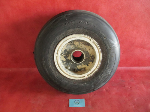 Cleveland Aircraft Wheel Assy Type III 6.50-8 PN. 40-128