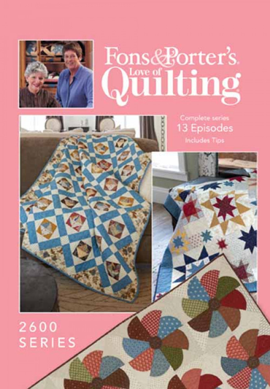 Fons Porters Love Of Quilting Complete Series 2600 13 Episodes