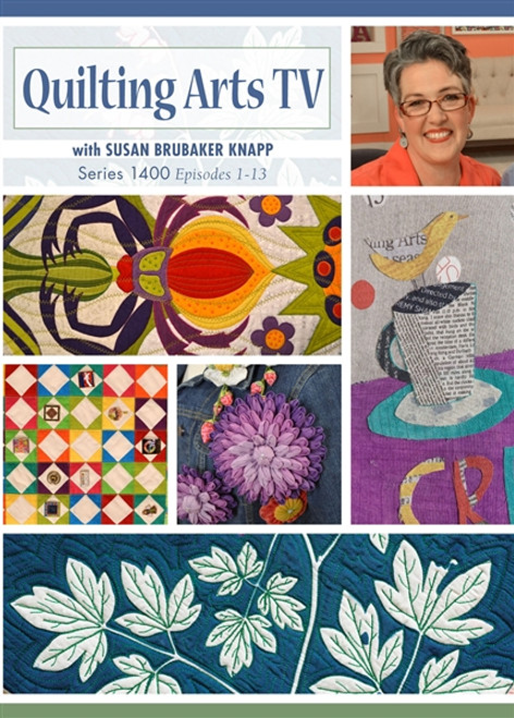 Quilting Arts Tv Series 1400 With Susan Brubaker Knapp Dvd