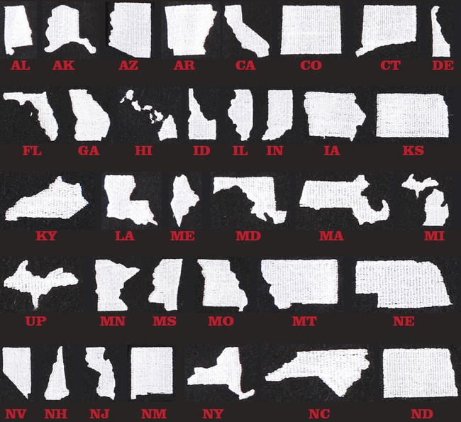 The State Pride Cap – Red/Black Plaid
