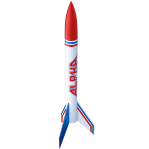 Alpha  (12 rockets) Flying Model Rocket Bulk Pack - Estes 1756