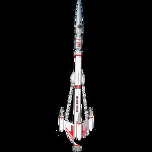 Dark Silver Flying Model Rocket - Estes 7229