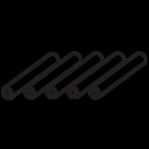 "LUG188 3/16"" (5mm) Launch Lugs (5 pk.) - Custom 23050"