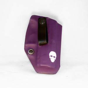 Custom Kydex Appendix (AIWB) Holster - Front - Purple