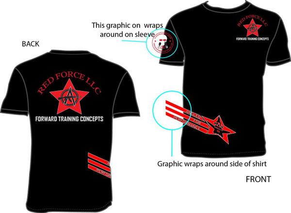 Berkut Wrap-Around T-Shirt
