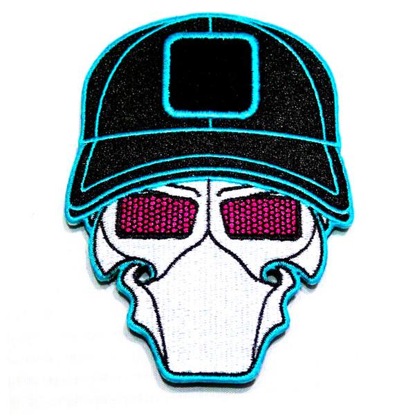 Miami Vice Ball Cap Logo Patch
