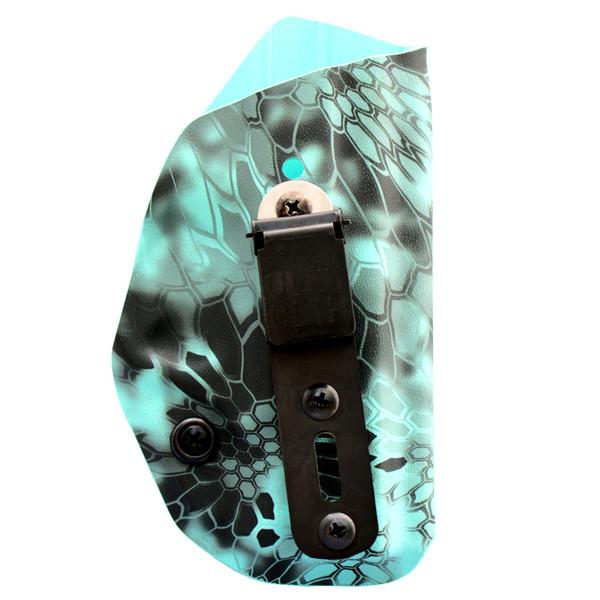 Berkut 2.1U - Adjustable Reverse Cant UltiClip Appendix Holster - Tiffany Kryptek Extreme