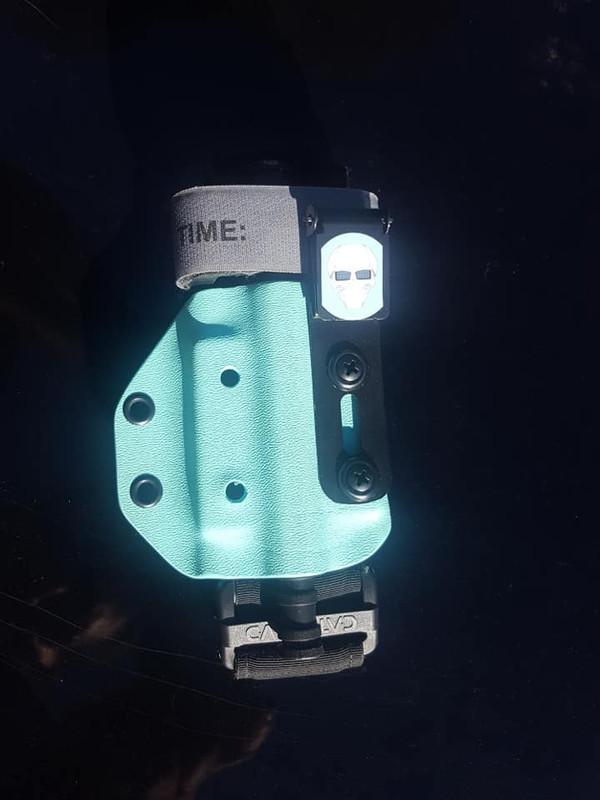 TQ Carrier - Tiffany Blue - UltiClip Attachment