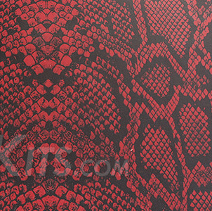 Snakeskin Blood Red Rattler Kydex Color