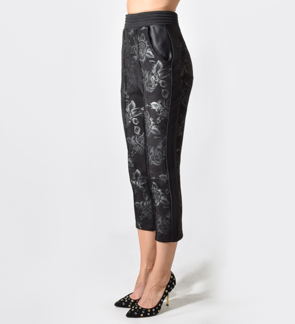 And the Roses Pants in Black