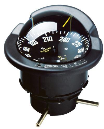 Plastimo Horizon 135 Compass - Black Card