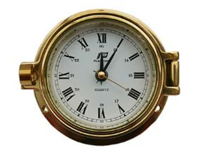 "Plastimo 3"" Clock Hinged RN"