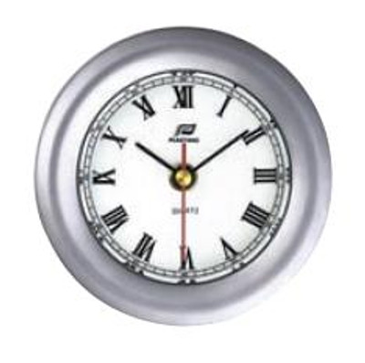 "Plastimo 4"" Clock Sealed RN Chrome/Matt Chrome"