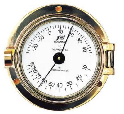 "Plastimo 3"" Thermometer-Hygrometer Porthole (MTHE36)"