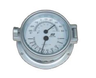 "Plastimo 4 1/2"" Thermometer-Hygrometer Hinged"