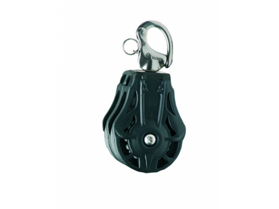 Wichard 45mm Ball Bearing Block Double/Shackle Head with Becket