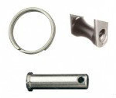 Ronstan Series 40 Replacement Becket, Pin, Split Ring