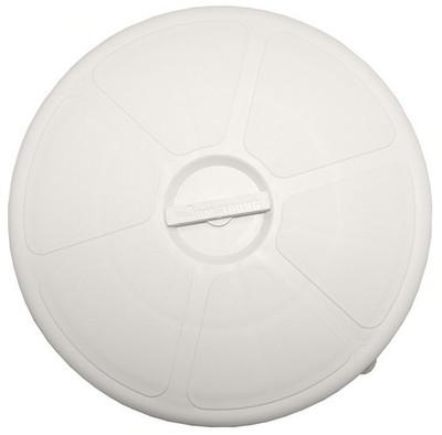 RWB Deck Plate Waterproof Round Black/White 300mm OA