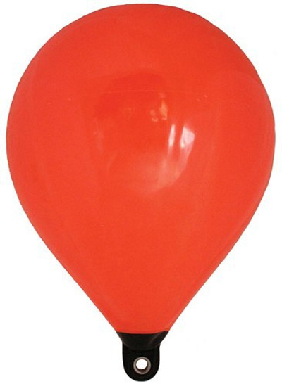 RWB Inflatable Teardrop Float Buoys - Orange/Black