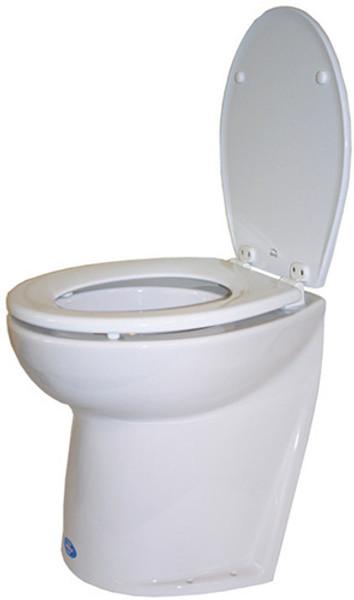 RWB Jabsco Deluxe Silent Flush Electric Toilets - Slanted Back Salt Water Rinse