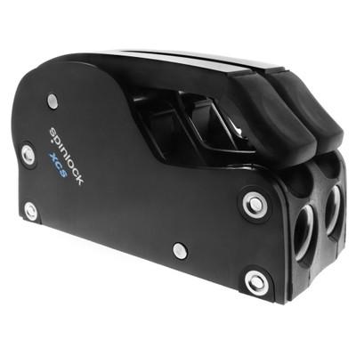 Spinlock XCS Clutch, 6-10mm Line, Double - BLACK
