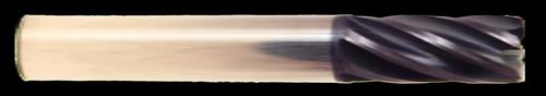 6 Flute, AlTiN Coated Carbide End Mill | RTJTool.com