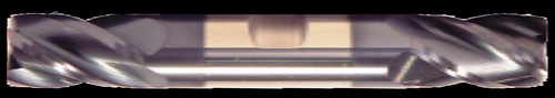 3/32 DIA, 4 Flute, Double End W/ Weldon Flats, AlTiN Coated